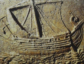 MalDia 03 (03-09-14) Phoenician-ship-carved
