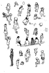 Street sketches