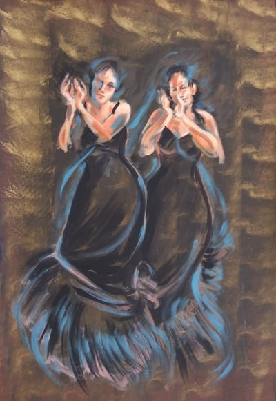 two flamenco dancers 14lr