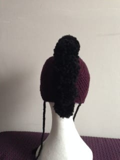 Crochet - Mohawk Hat (Commission) 4