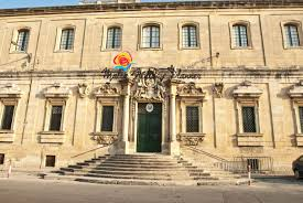 the Malta Roman Catholic Curia hq at Floriana