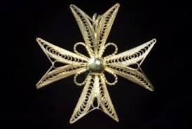hand-made Maltese filigree Maltese Cross