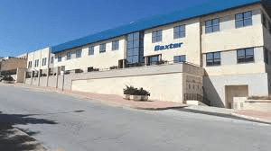 Baxter manufacturing hospital products