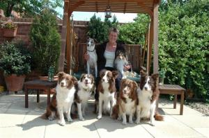 Mary and her dogs (Small)