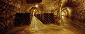 The subterranean Champagne caves extend for miles