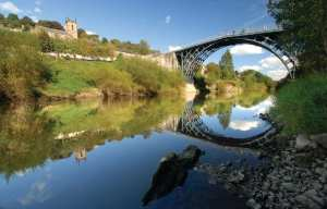 Iron Bridge over the River Severn