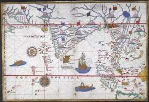 The vast Ottoman Empire in 1565 stretching from the Mediterranean to the Indian Ocean