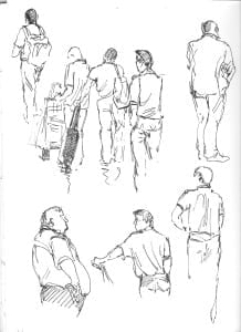 airport sketch