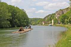 The raft in Vincelles