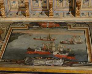 resplendent floor and wall paintings