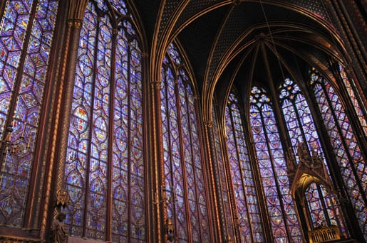 Stained glasses of the Holy Chapel