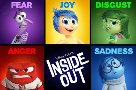 1)Film with Cinema Therapy value: Disney-Pixar's 'Inside Out'!