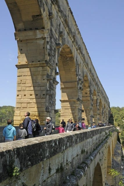 Travel and Leisure News and Reviews from around the World Pont Du Gard Top