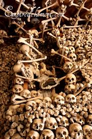 Bones of the dead used for decoration