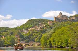 The village of Castelnaud-la-Chapelle