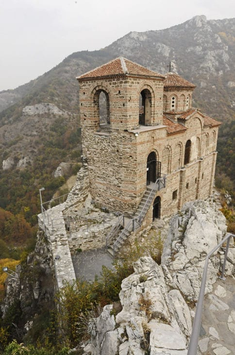 The Asen fortress in the Rhodope Mountains