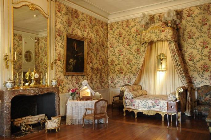 Room in Vaux-le-Vicomte castle