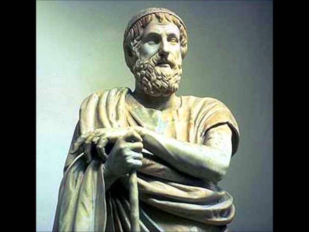 The Greek poet Homer