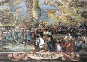 Ottomans approach and conquor Fort St Elmo - a great blow for the Knights