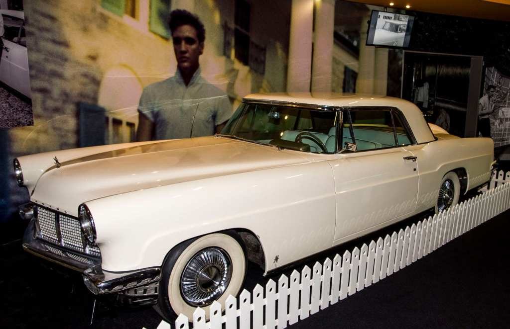 One of Elvis's limousines