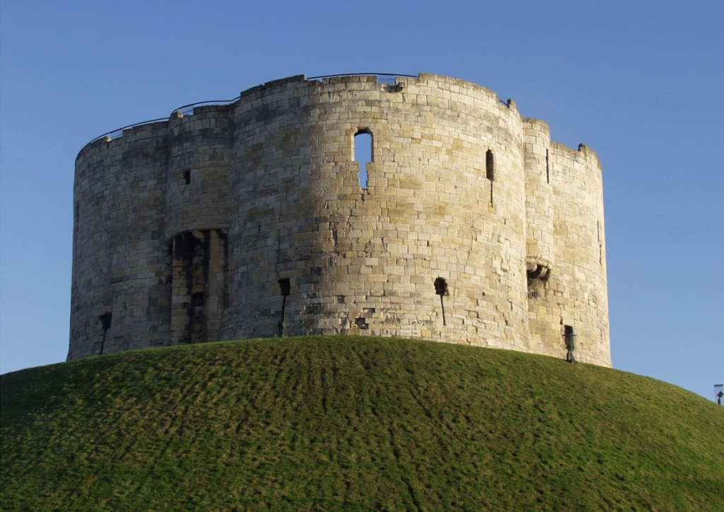 Cliffords Tower. Photo Visit York images