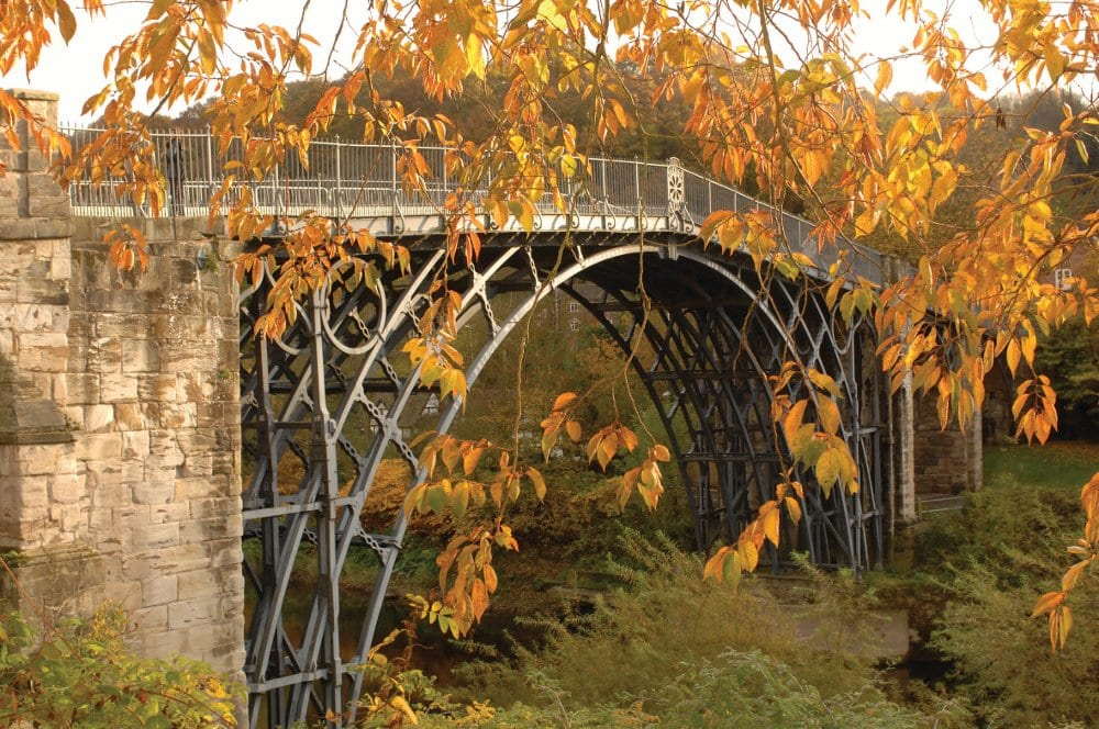 Iron Bridge autumn
