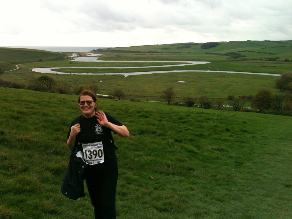 John and Sue Pettifor Beachy Head Marathon (1)