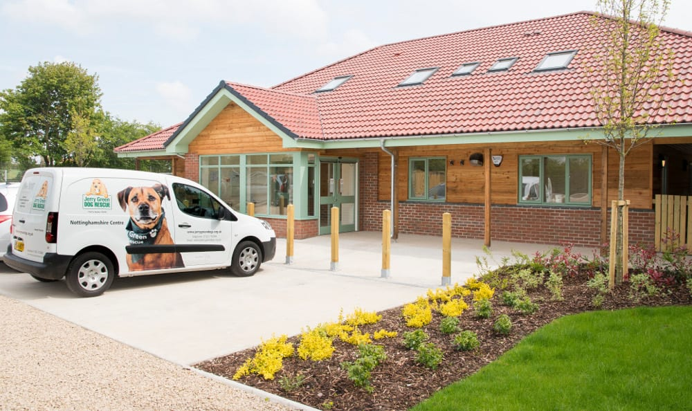 Newly refurbished Nottinghamshire Jerry Green centre