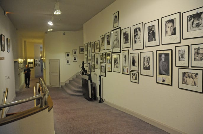 The Hall of Fame at the Westminster