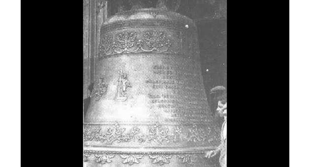 Consecrating a new bell has its own rituals.