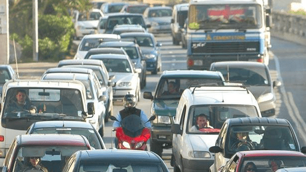 Daily traffic congestion costing the country millions of euros.