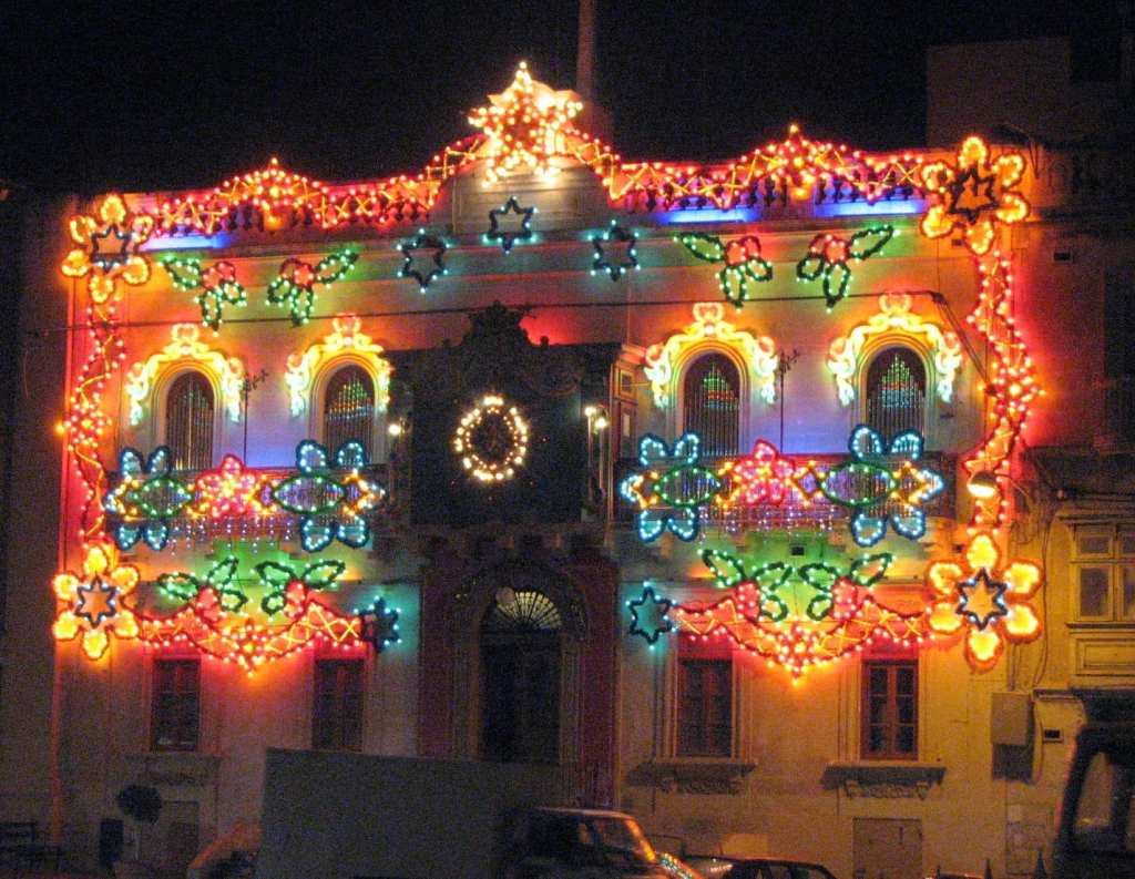 Decorated Paola band club.