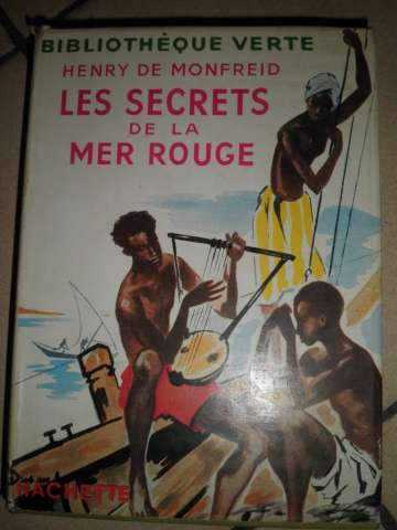 One of Henry de Monfried's many books about his Red Sea adventures