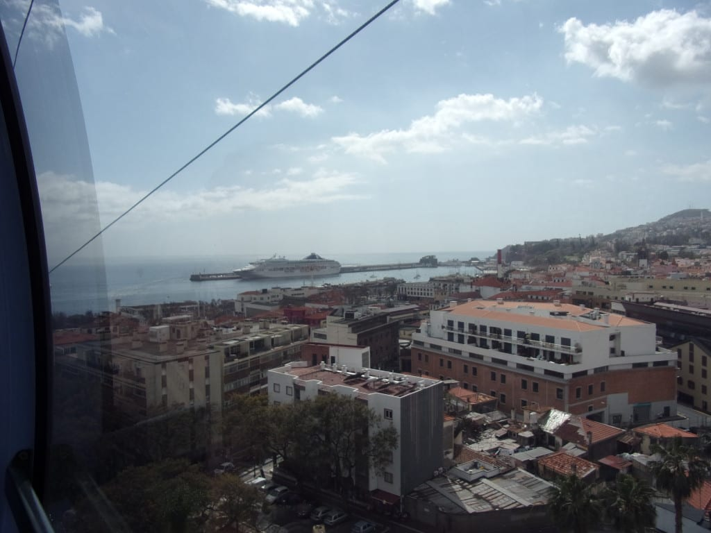 View from the cable car.