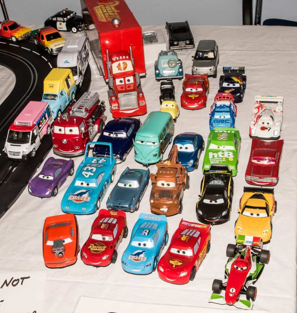 Quirky slot cars