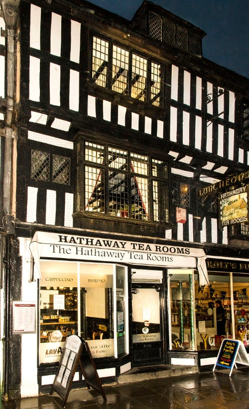 HATHAWAY TEA ROOMS STRATFORD 2016