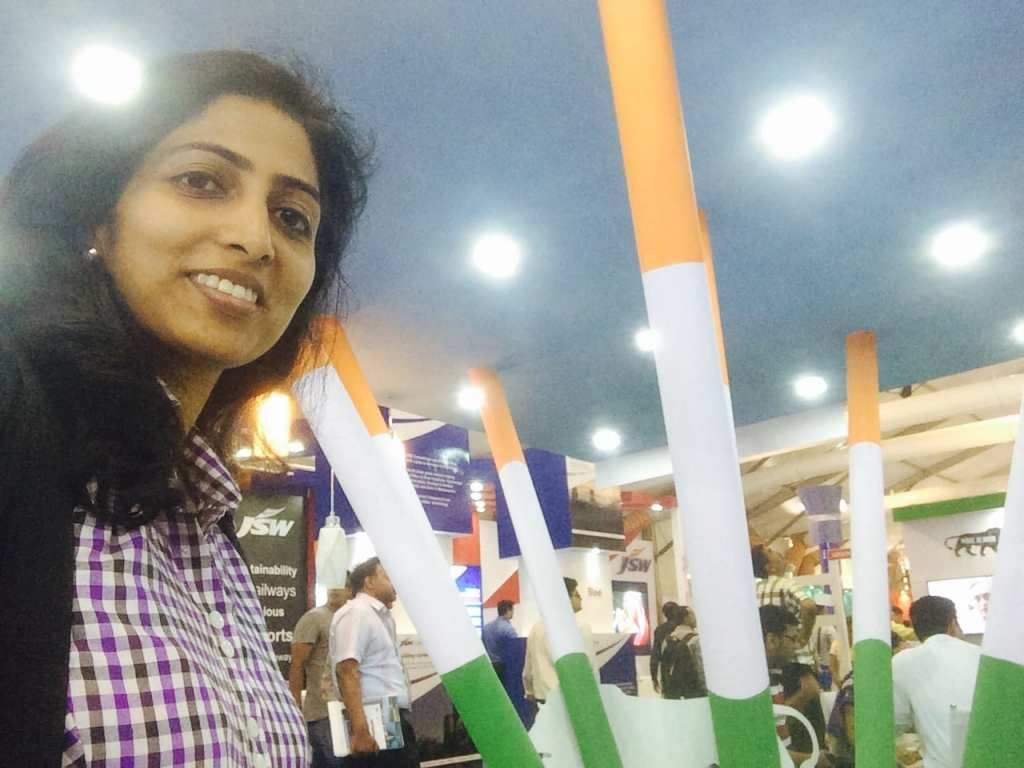 Proud of the Indian tri-colours all set to colour the business world