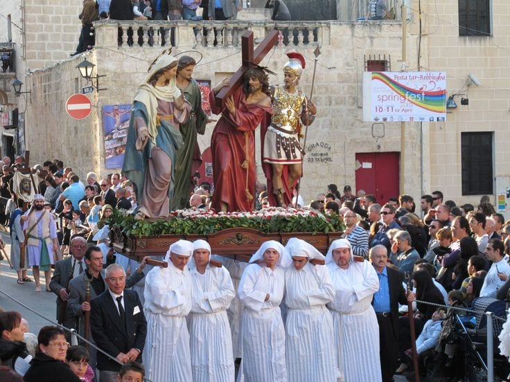 Malta now preparing for Good Friday processions.