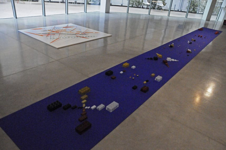 Art works by LDB at the Frac Marseille