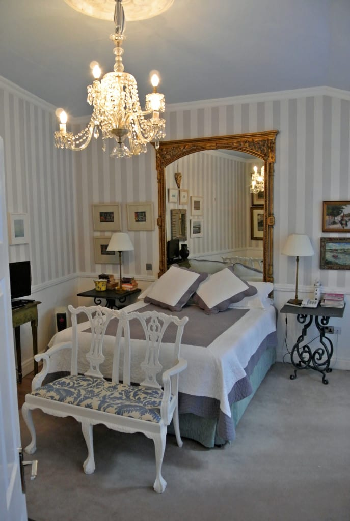 Elegant bedrooms at Quay House