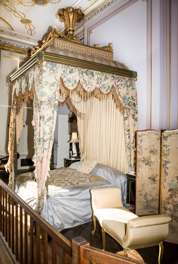 Four poster bed. Ragley Hall,  Prince-Regents-bedroom