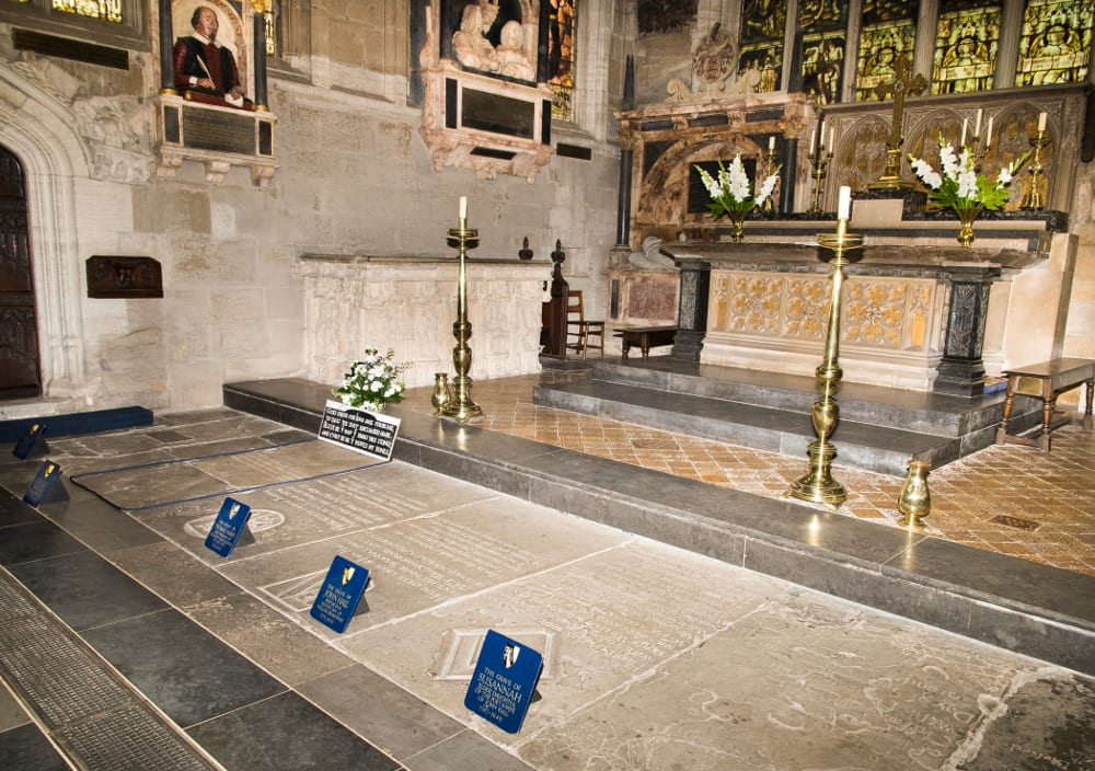Church of the Holy Trinity Stratford upon Avon, hakespeares-burial-place