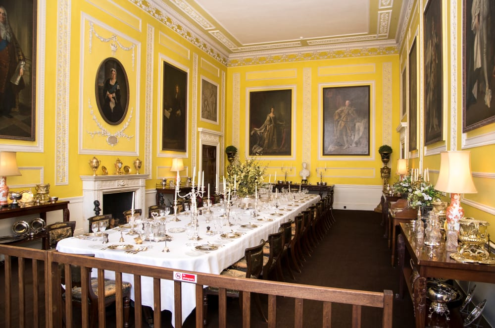 Ragley Hall Alcester,   The-State-Dining-Room
