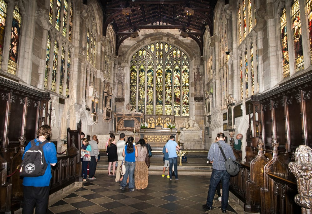 Church of the Holy Trinity Stratford upon Avon, Visitors-to-Shakespeares-grave