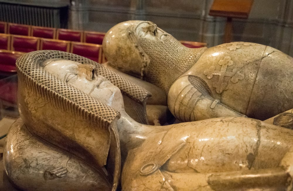 Earl-of-Warwick-and-his-countess-in-alabaster St Marys Church Warwick - Tysall's Photography 2016