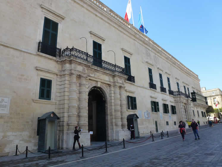 The Palace, Valletta.