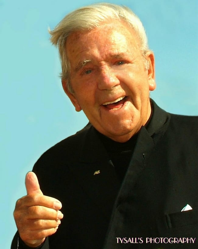 Thumbs up from Norman Wisdom