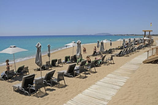 3- Pristine Costa Navarino beach
