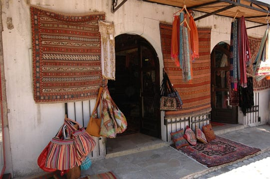 Traditional cloth shop