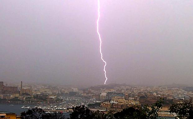 Friday, 24th June 2016, a bolt out of the blue strikes Malta - and it's summer. Unheard of!